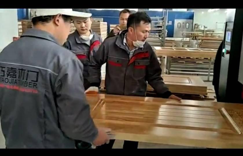 Medium-sized Guiyang Qiao Jia wooden door video